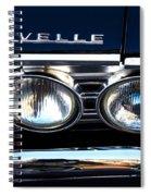 Chevelle Headlight Spiral Notebook