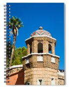 Cheveron Domed Tower 1 Spiral Notebook