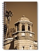 Cheveron Domed Tower 2 Spiral Notebook