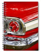 Chevrolet Impala Classic Rear View Spiral Notebook