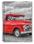 Chevy 3100   7d05235 Spiral Notebook