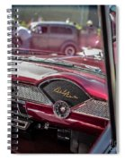 Chevy Bel Air Dash Spiral Notebook