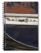 Chevy Bel Air Spiral Notebook