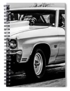Chevy Chevrolet Chevelle Ss Burning Rubber Spiral Notebook