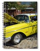 Chevy Classic Spiral Notebook