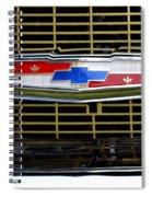 Chevy Emblem Spiral Notebook