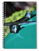 Chevy Hood Ornament Spiral Notebook