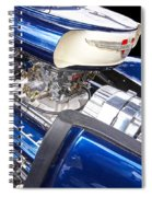 Chevy Hot Rod Engine Spiral Notebook