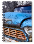 Chevy In The Woods Spiral Notebook