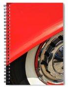1955 Chevy Rim Spiral Notebook