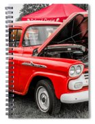 Chevy Stock Spiral Notebook