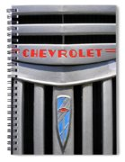 Chevy Truck Grill Spiral Notebook