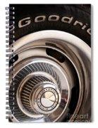 Chevy Wheel Spiral Notebook