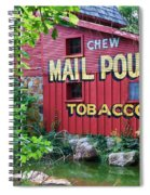 Chew Mail Pouch Tobacco  Spiral Notebook