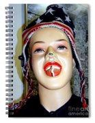 Chewing Gum Smile Spiral Notebook