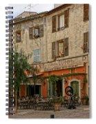 Chez Luigi St Remey France Dsc02408  Spiral Notebook