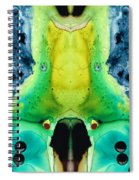 Chi Ant - Aka Mr Happy Bug By Sharon Cummings Spiral Notebook
