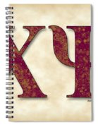Chi Psi - Parchment Spiral Notebook