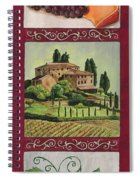 Chianti And Friends Collage 1 Spiral Notebook