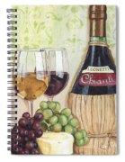 Chianti And Friends Spiral Notebook