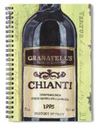 Chianti And Friends Panel 1 Spiral Notebook