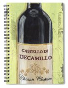 Chianti And Friends Panel 2 Spiral Notebook