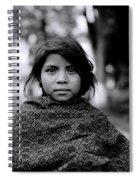 Chiapas Girl Spiral Notebook