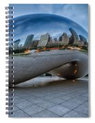 Chicago - Cloudgate Reflections Spiral Notebook