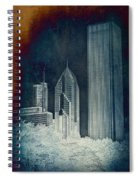 Chicago 4 Tall Shoulders Textured Spiral Notebook