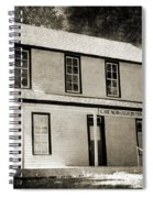 Chicago And Alton House Blue Springs Missouri Infrared Spiral Notebook