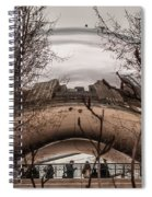 Chicago Architecture Spiral Notebook