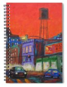 Chicago Avenue Looking West Spiral Notebook