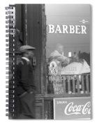 Chicago Barber Shop, 1941 Spiral Notebook