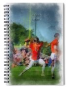 Chicago Bears Qb Jay Cutler Training Camp 2014 Pa 01 Spiral Notebook