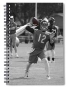 Chicago Bears Qb David Foles Training Camp 2014 Sc 01 Spiral Notebook