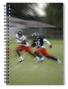 Chicago Bears Rb Michael Ford Moving The Ball Training Camp 2014 Spiral Notebook