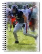 Chicago Bears Te Zach Miller Training Camp 2014 Pa 01 Spiral Notebook