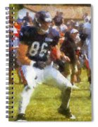 Chicago Bears Te Zach Miller Training Camp 2014 Pa 02 Spiral Notebook