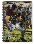 Chicago Bears Te Zach Miller Training Camp 2014 Pa 04 Spiral Notebook