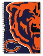 Chicago Bears Spiral Notebook