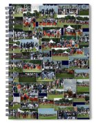 Chicago Bears Training Camp 2014 Collage The Players Spiral Notebook