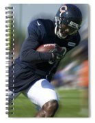 Chicago Bears Training Camp 2014 Moving The Ball 09 Spiral Notebook