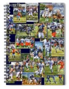 Chicago Bears Training Camp 2014 Pa 02 Spiral Notebook