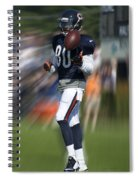 Chicago Bears Wr Armanti Edwards Moving The Ball Training Camp 2014 Spiral Notebook