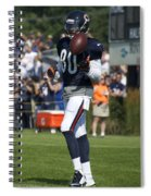 Chicago Bears Wr Armanti Edwards Training Camp 2014 02 Spiral Notebook