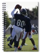 Chicago Bears Wr Armanti Edwards Training Camp 2014 04 Spiral Notebook