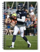 Chicago Bears Wr Armanti Edwards Training Camp 2014 07 Spiral Notebook