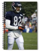 Chicago Bears Wr Chris Williams Training Camp 2014 05 Spiral Notebook