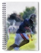 Chicago Bears Wr Micheal Spurlock Training Camp 2014 04 Pa 01 Spiral Notebook