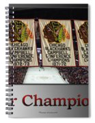 Chicago Blackhawks Our Champions Sb Spiral Notebook